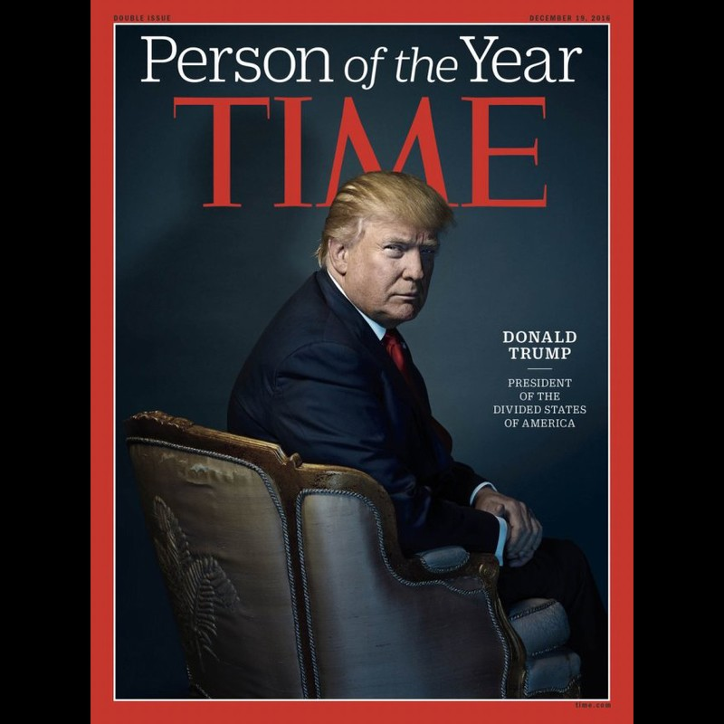 练习 | TIME Picks Donald Trump as Its 'Person of the Year'