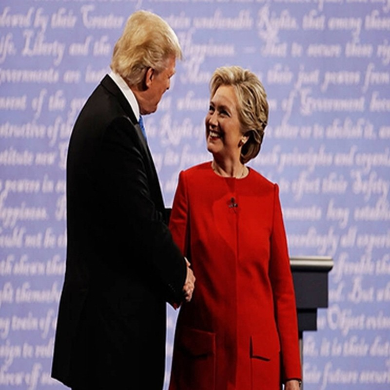 练习 | The First Presidential Debate: Hillary Clinton Prevailed; Donald Trump Blamed the Mic